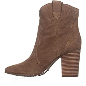 Aerosoles Women's Lincoln Square Ankle Boot, tan Suede, 8 M US