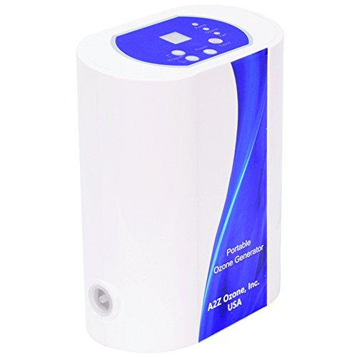 - A2Z Ozone Aqua-8 Portable Multi-Purpose 800mg Ozone Generator
