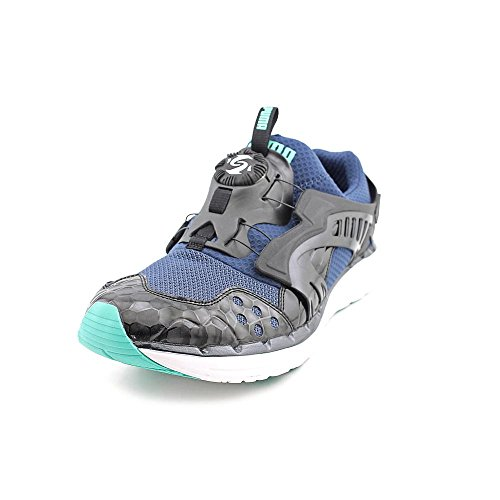 PUMA Men's Future Disc Lite V2 Black/Electric Green Sneaker 10 D - Medium