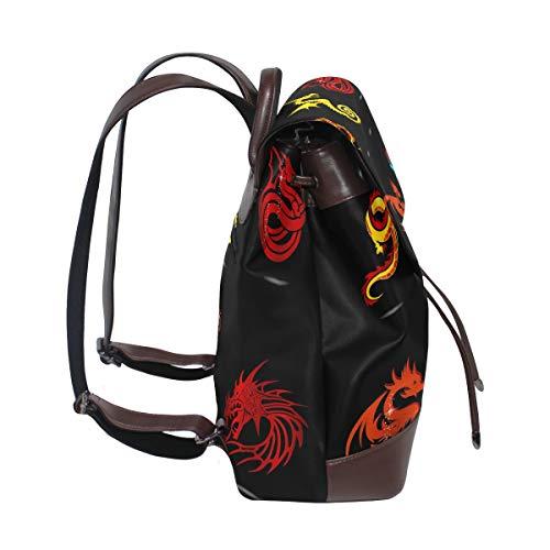 porté Taille Sac pour DragonSwordlinsu multicolore au à unique main dos femme fw1tqd1
