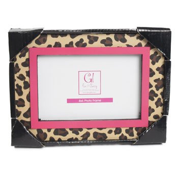 Amazon.com - PHOTO FRAME 8 X 7 LEOPARD 4 X 6 OPENING MDF, Case Pack ...