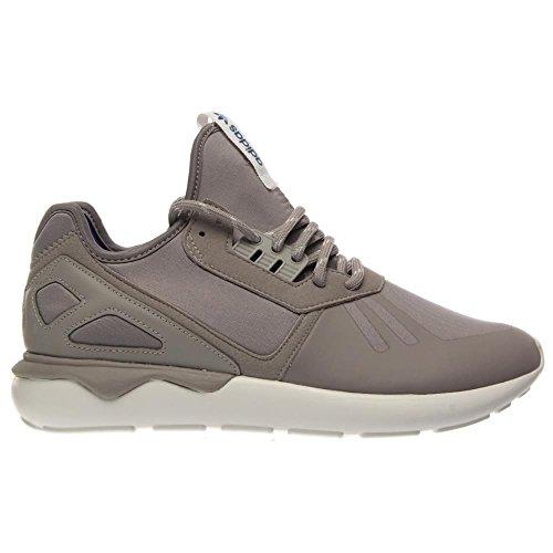 Hombres Adidas tubular Corredor Negro / Marrón 11 corrientes atléticos B35641 Gray