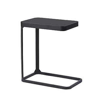 Folding table Nan Mesa Auxiliar de sofá de Vidrio Templado ...