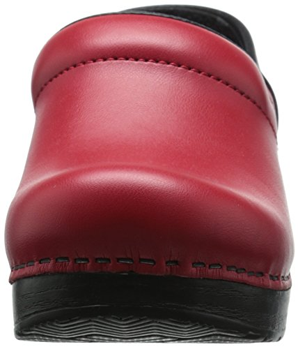 Clog Leather Red Cabrio Women's Dansko Professional Pro Box Rx7gw4q
