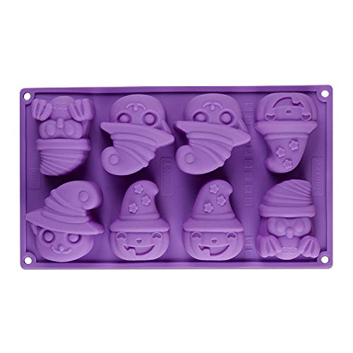Amazon.com: Happy Halloween Silicone Cake Mold Pumpkin Kitchen Bake Tools Chocolate Cake Mould Fondant Baking Tools Sugar Craft Decorating Mold for Mousse ...