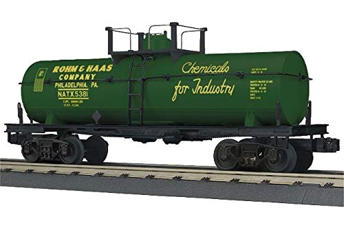 MTH TRAINS; MIKES TRAIN HOUSE ROHM & HAAS Tank CAR