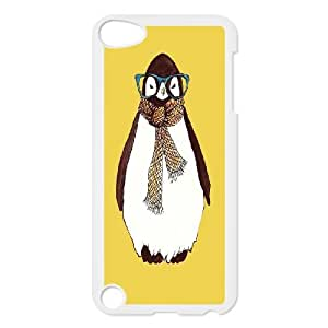 The arctic cute penguins art paintings Hard Plastic phone Case Cover FOR Ipod Touch 5 JWH9107946