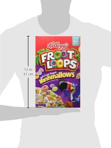 Kellogg's Froot Loops Cereal, Marshmallow, 12.6-ounce Boxes (Pack of 2) by Kellogg's (Image #7)