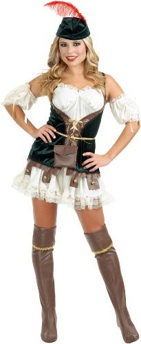 Robin Hood Honey Adult Costume Size Large  sc 1 st  Costume Overload : robin halloween costume female  - Germanpascual.Com