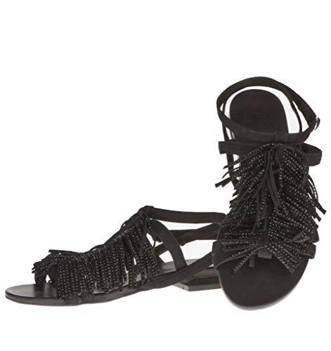 Noir Noir Femme pour La Femme Sandales Plus HOHFv01