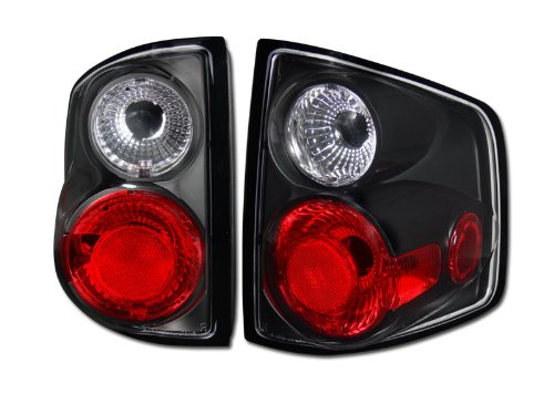 BLK *3D* ALTEZZA TAIL LIGHTS BRAKE LAMP 1994-2004 CHEVY S10 TRUCK GMC S15 SONOMA (Chevy S10 Truck Tail Lamp)