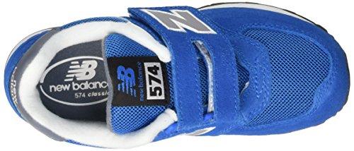 New Balance K_574v1, Zapatillas Unisex Niños Azul (Blue/Grey)