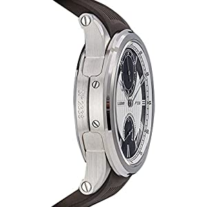 Leroy 18K WG Marine Deck Auto Chronometer Besancon Gent's. Two-Tone LL200-5