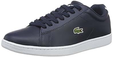 Sport Straightset BL 2 SPW, Zapatillas para Mujer, Azul (Nvy), 40.5 EU Lacoste