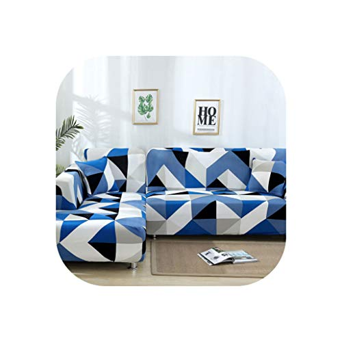 Beautiful Lies Spandex Sofa Cover Elastic Sofa Covers for Living Room Housse Canape Sectional Sofa Cover Protector 1/2/3/4 Seater,Color 13,1-90-140Cm