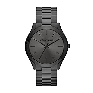 Michael Kors Men's Slim Runway Quartz Watch with Stainless Steel Strap