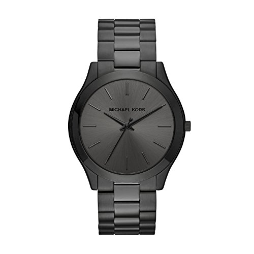 Michael Kors Men's Slim Runway Black Watch ()