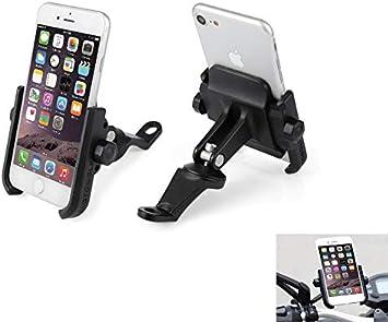 Soporte Smartphone Universal Moto Espejo Retrovisor Rotación de ...