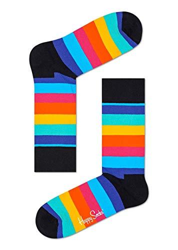 Happy Socks Stripe Sock Black,Red,White 41-46