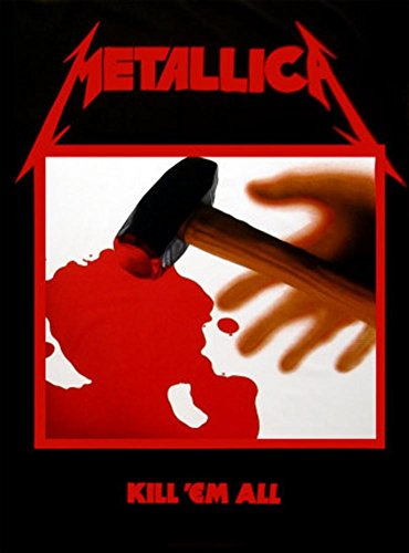 Metallica - Kill em All Fabric Poster Print