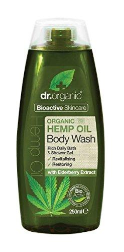 Dr. Organic Hemp Oil Revitalising Restoring Body Wash 250ml 8.5 fl oz (Wash Revitalising)