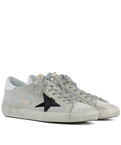 Golden Goose Sneakers Uomo GC0MS590P9 Tessuto Bianco