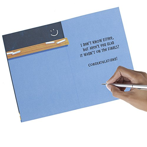 Hallmark Funny Graduation Greeting Card (Graduation Riddle) Photo #3