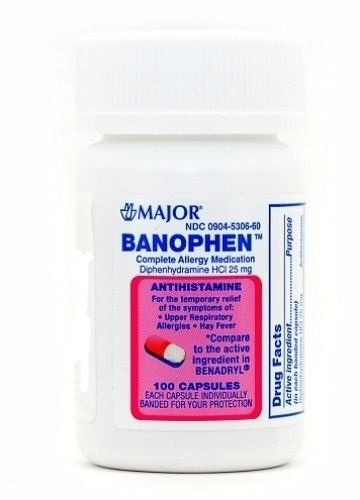 Benadryl capsule