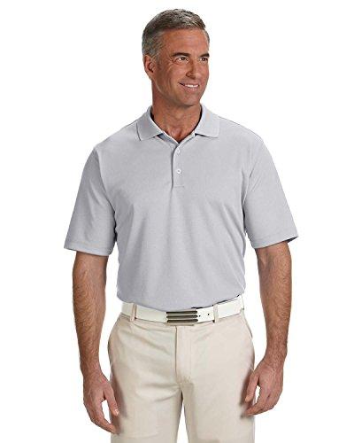 adidas Golf Mens Climalite Solid Polo (A170) -Chrome -2XL ()