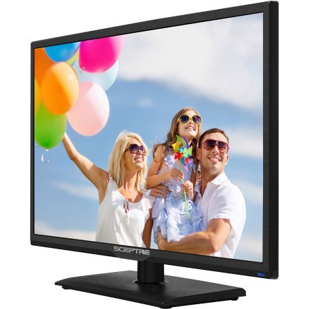 Sceptre 24'' Class 1080P LED TV with Built-in DVD Player by Sceptre E246BD-F