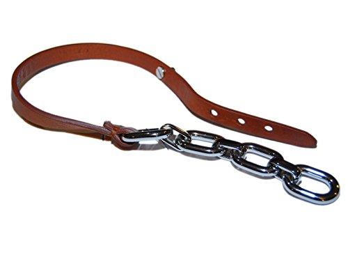 Lauren Ralph Mens Bracelets (Polo Ralph Lauren Collection Chain Bracelet Leather Metal Brown Silver Italy)