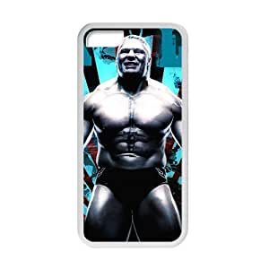 RMGT WWE Brock Lesner Wrestling Fighting White Phone Case for Iphone 6 (4.5)