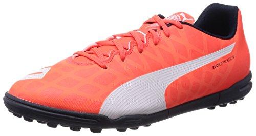 Puma Evospeed 5.4 Tt - Botas De Fútbol para hombre Arancione (Orange (lava blast-white-total eclipse 01))