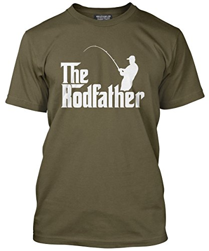 The Rodfather – Fathers Day Dad Father Gift – Mens T-Shirt