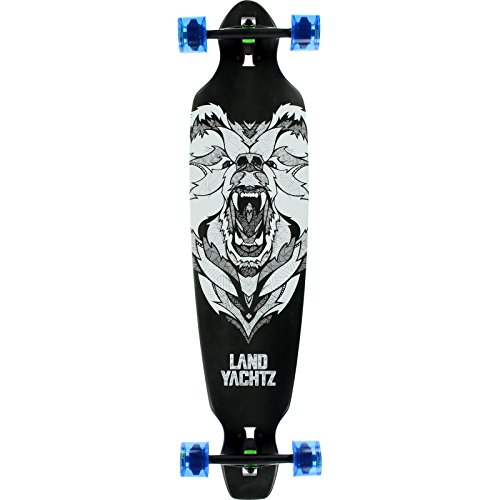 Landyachtz Bamboo Battle Axe 40 Bear 9x40.2 Complete Longboard Skateboard
