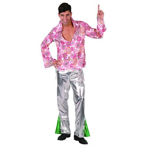Hippie Male Adult Costume - Size S / M by Desconocido