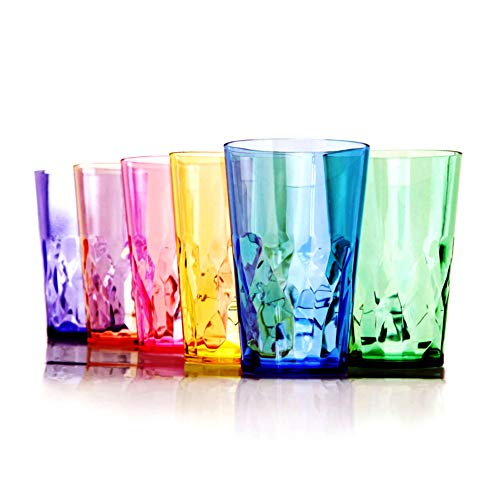 19 oz Unbreakable Premium Drinking Glasses Tumbler -
