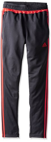 adidas Performance Tiro 15 Training Pant, X-Large, Dark Grey/Light Red/Dark Shale