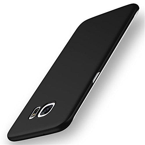Galaxy S7 Case, AICOO Ultrathin Anti-Fingerprints Non-slip Hard PC Phone Case Cover For Samsung Galaxy S7 G9300, A1 Black (Plastic Case Texture)