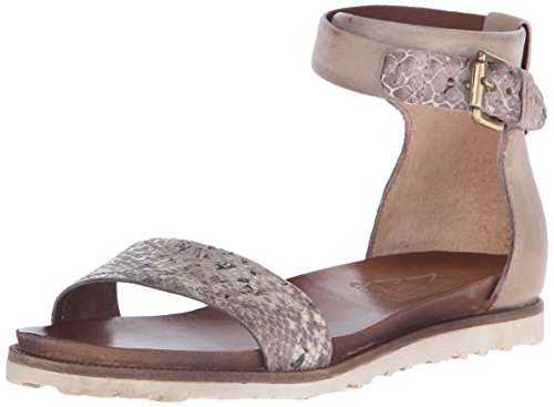 Miz Mooz Women's Tarina Ankle-Strap Sandal Stone d1JVy0orfN
