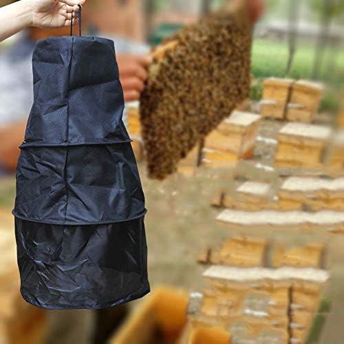 Danigrefinb Bienenenzucht Supplies 3-lagig Fangköder Bienenenkäfig Bienenenzucht Werkzeug Wildrekrutier-Gerät