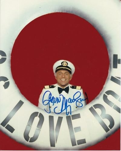 GAVIN MACLEOD signed autographed THE LOVE BOAT CAPTAIN MERRILL STUBING -