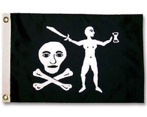 3x5 Jolly Roger Pirate Walker Walter Kennedy Flag 3'x5' House Banner