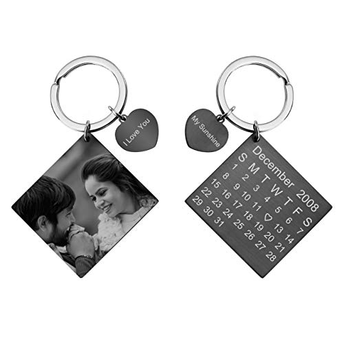 Top 10 recommendation personalized calendar keychain for men for 2020