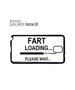 Fart Loading Please Wait Mobile Cell Phone Case Samsung Note 3 Black