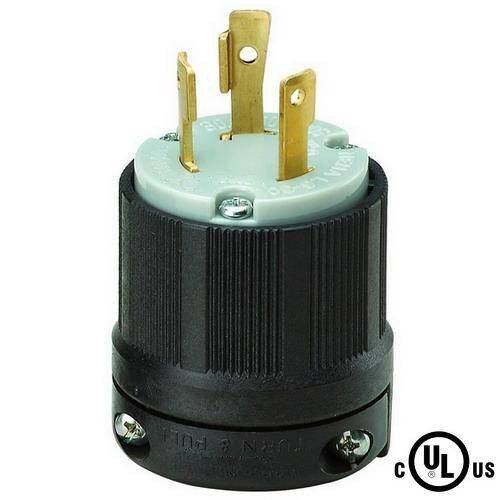 Powertronics NEMA L6-30 Plug by Powertronics NEMA L6-30 Plug