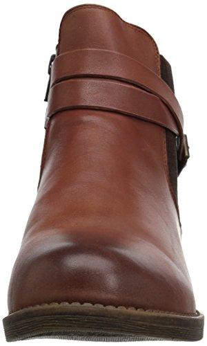 Propét Women's Tatum Ankle Bootie, Black Brown