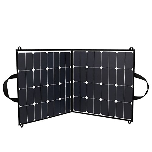 Upgraded Sunpower Solar Panel 5.5A 18V 100W Portable Fold...