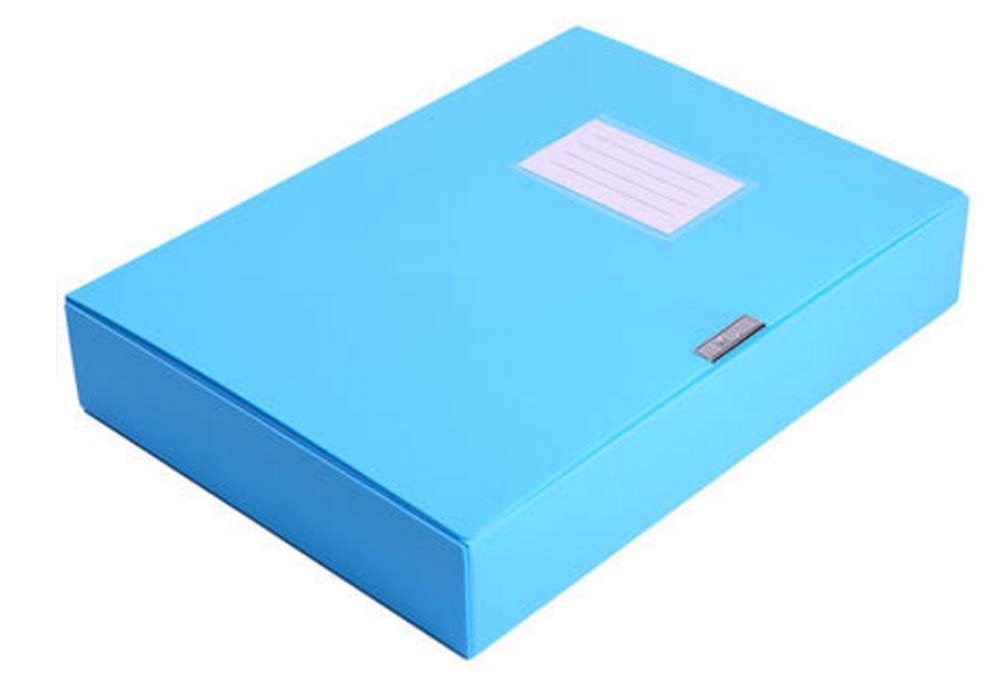 Blue Folder Organizer Storage Folder File Folder Document Folder East Majik