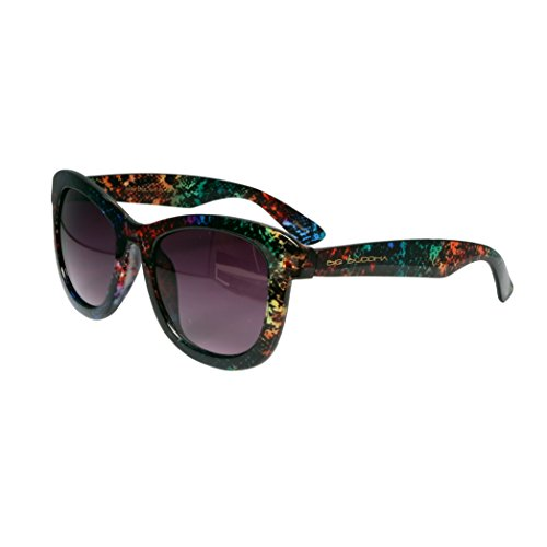 Big Buddha Women's Delany Rectangular Sunglasses, Multi, 56 - Big Sunglasses Buddha